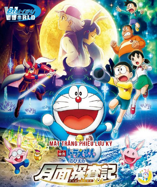 B4141. Doraemon the Movie Chronicle of the Moon Exploration 2019 - Mặt Trăng Phiêu Lưu Ký 2D25G (DTS-HD MA 7.1)