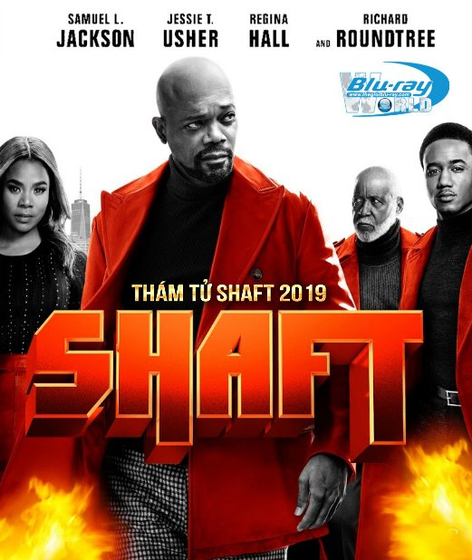 B4172. Shaft II 2019 - Thám Tử Shaft II 2D25G (TRUE- HD 7.1 DOLBY ATMOS)