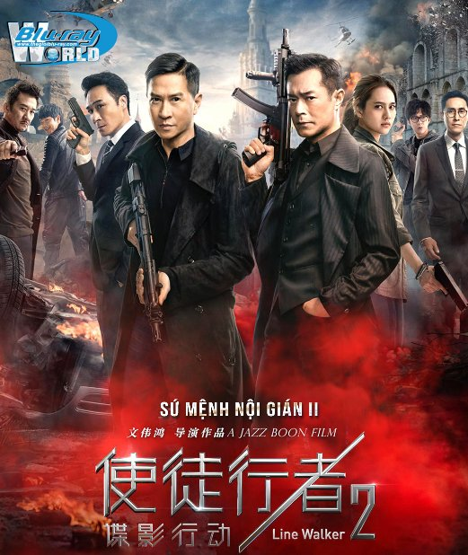 B4303. Line Walker 2 Invisible Spy 2019 - Sứ Mệnh Nội Gián 2 2D25G (TRUE- HD 7.1 DOLBY ATMOS)