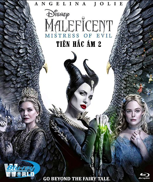 F1894. Maleficent: Mistress of Evil 2019 - Tiên Hắc Ám 2 2D50G (DTS-HD MA 7.1)