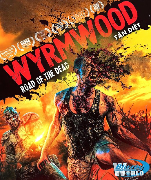 B4552. Wyrmwood: Road of the Dead - Tận Diệt 2D25G (DTS-HD MA 5.1)