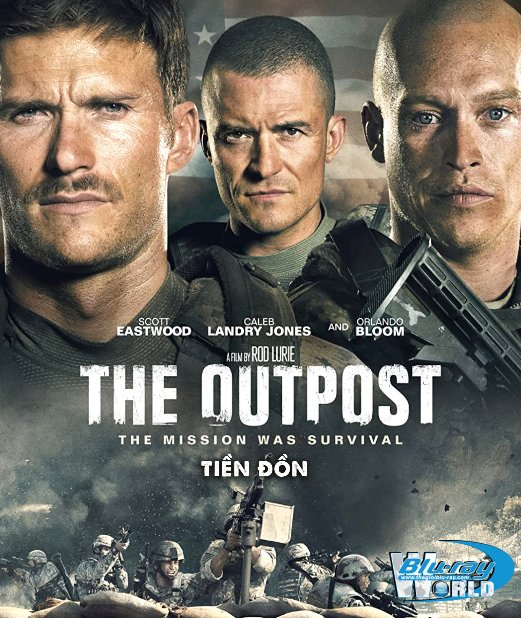 B4575. The Outpost 2020 - Tiền Đồn 2D25G (DTS-HD MA 5.1)