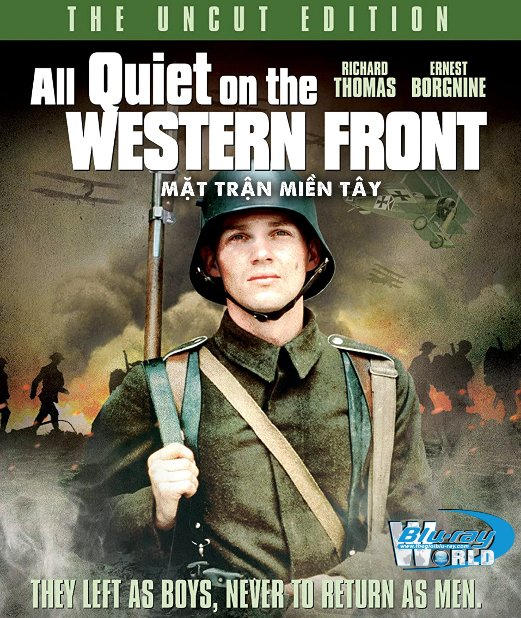 B4676. All Quiet on the Western Front 1979 - Mặt Trận Phía Tây 2D25G (DTS-HD MA 5.1)