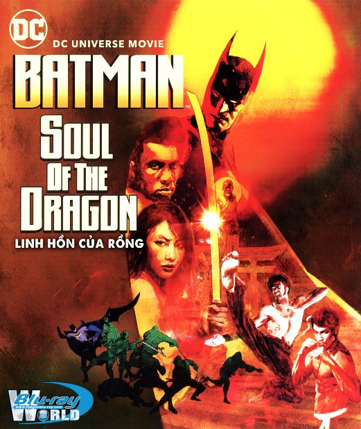 B4950. Batman: Soul of the Dragon 2021 - Linh Hồn Của Rồng2D25G (DTS-HD MA 5.1)