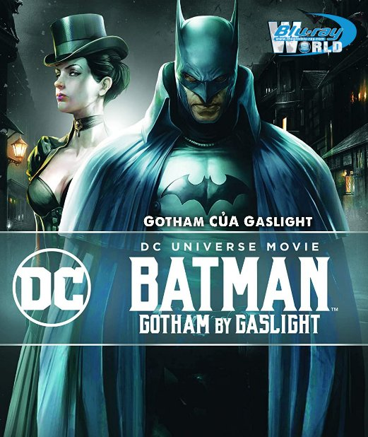 B4951. Batman : Gotham by Gaslight 2021 - Gotham Của Gaslight 2D25G (DTS-HD MA 5.1)