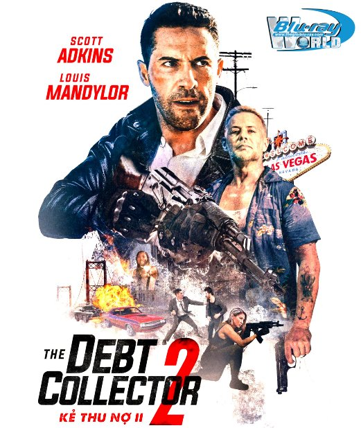 B4861. The Debt Collector 2 - Kẻ Thu Nợ 2 2D25G (DTS-HD MA 5.1)