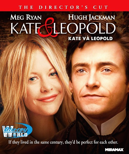 B4884. Kate and Leopold - Kate Và Leopold 2D25G (DTS-HD MA 5.1)