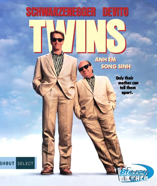 B4885. Twins - Anh Em Song Sinh 2D25G (DTS-HD MA 5.1)