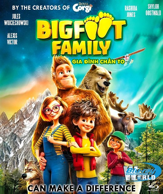 B4913. Bigfoot Family 2020 - Gia Đình Chân To 2D25G (DTS-HD MA 5.1)