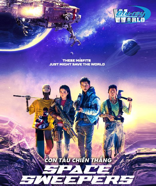 B4917. Space Sweepers 2020 - Con Tàu Chiến Thắng 2D25G (DTS-HD MA 5.1)