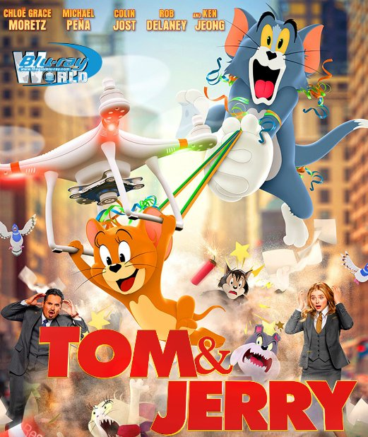 B4289. Tom and Jerry 2021 2D25G (DTS-HD MA 5.1)