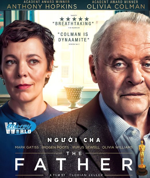 B4964. The Father 2021 - Người Cha 2D25G (DTS-HD MA 5.1)