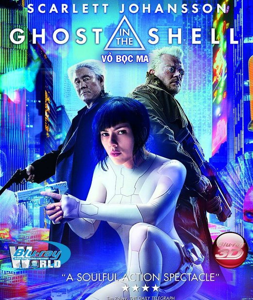 D338.Ghost in the Shell 2017  - Vỏ Bọc Ma 3D25G (TRUE - HD 7.1 DOLBY ATMOS)
