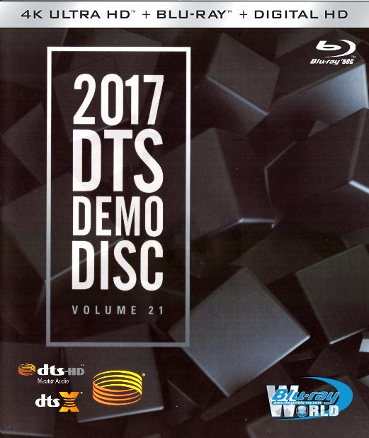 F1224.DTS Demo Disc Vol.21 (2017) DTS-X.7.1 (2D50G)