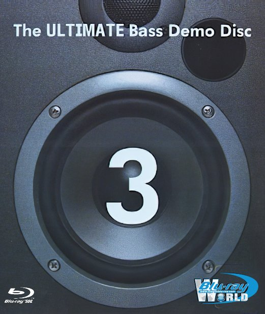 F1617.The ULTIMATE Bass Demo Disc 3 DTS-HD Master-Audio Dolby TrueHD-5.1-7 1 (50G)