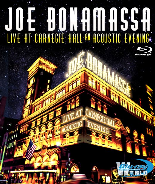 M1688.Joe Bonamassa Live at Carnegie Hall – An Acoustic Evening (2016)  (50G)