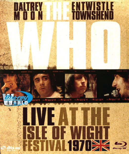 M1708.The Who Live at the Isle of Wight Festival (2004) (50G)