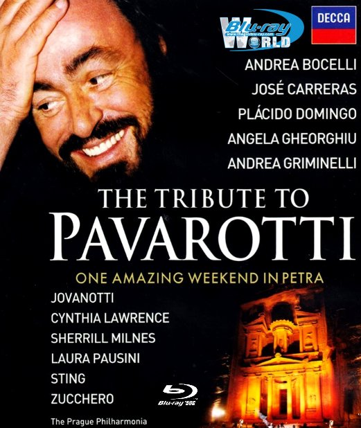 M1725.The Tribute to Pavarotti One Amazing Weekend in Petra 2008 (50G)