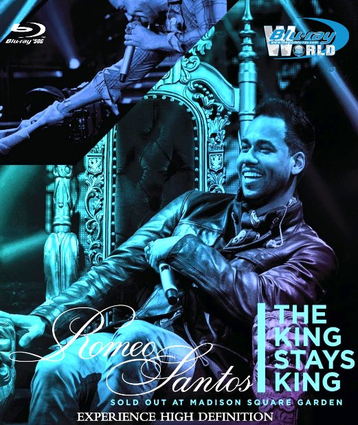 M1745.Romeo Santos The King Stays King Sold Out at Madison Square Garden 2012 (50G)