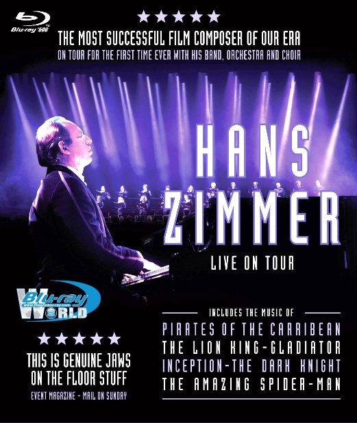 M1748.Hans Zimmer- Live in Prague 2017 (50G) (TRUE - HD 7.1 DOLBY ATMOS)