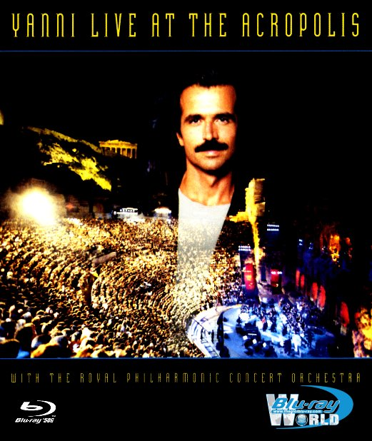 M1801. Yanni: Live at the Acropolis (50G)