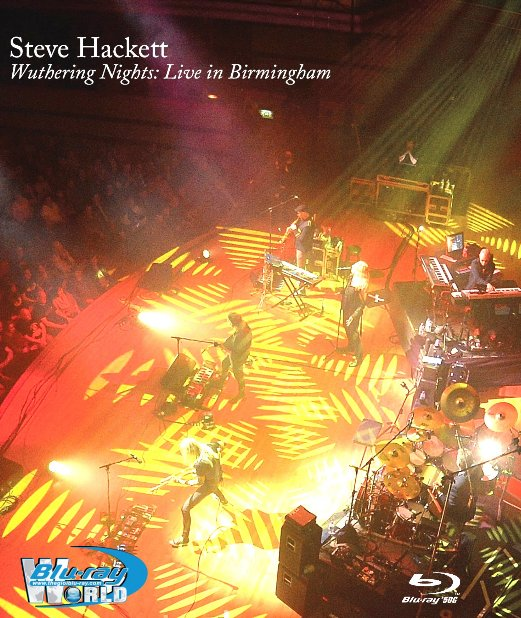 M1808.Steve Hackett - Wuthering Nights - Live in Birmingham 2018  (50G)