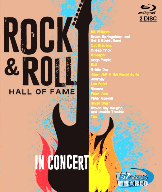 M1818.The Rock & Roll Hall of Fame In Concert 2014-15-16-17 (50G 2DISC)