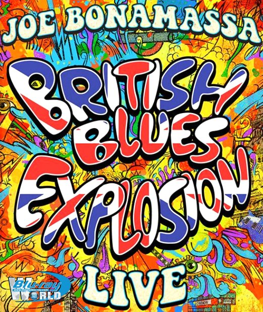 M1819.Joe Bonamassa BRITISH BLUES EXPLOSION LIVE 2018 (25G)