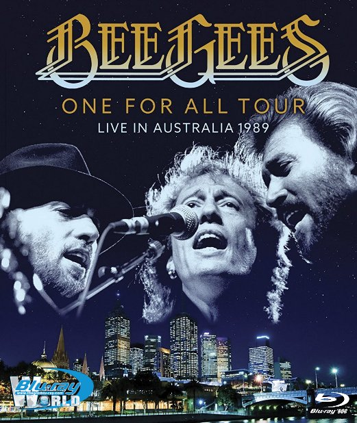 M1828.Bee Gees - One For All Tour: Live In Australia 1989 (50G)