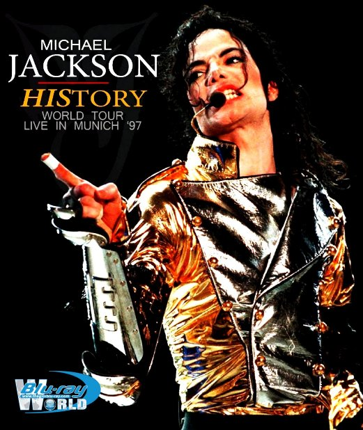 M1829.Michael Jackson Live History World Tour Munich 1997 (50G)