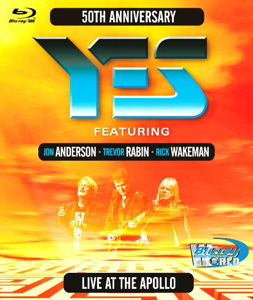 M1841.Yes ! featuring Anderson, Rabin, Wakeman 2018- Live At The Apollo  (50G)
