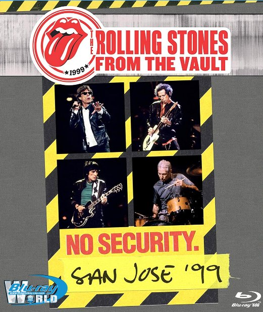 M1847.The Rolling Stones - From The Vault No Security - San Jose '99 2018 (50G)