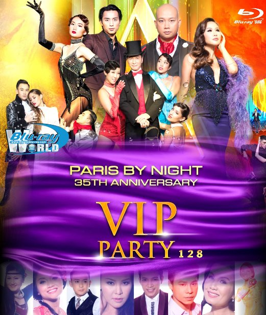 M1896. PARIS BY NIGHT - VIP PARTY 128 (50G)