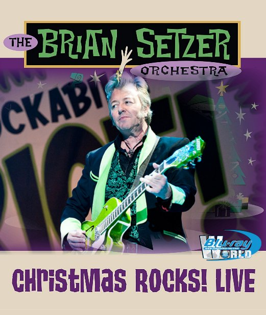 M1913.The Brian Setzer Orchestra Christmas Rock! Live 2018 (25G)