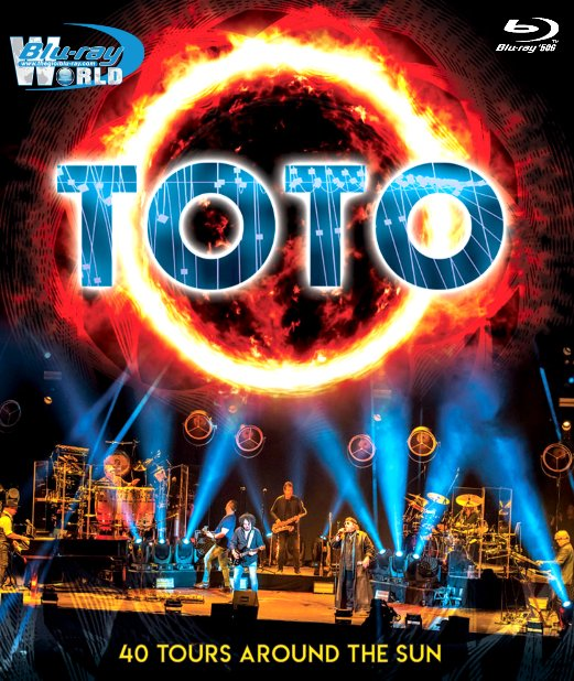 M1924.Toto - 40 Tours Around The Sun 2019  (50G)