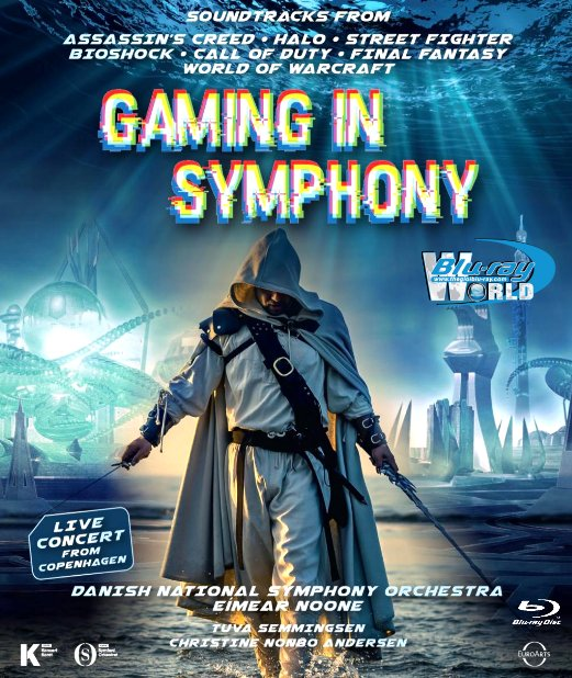 M1928.Gaming in Symphony - Danish National Symphony Orchestra (25G)
