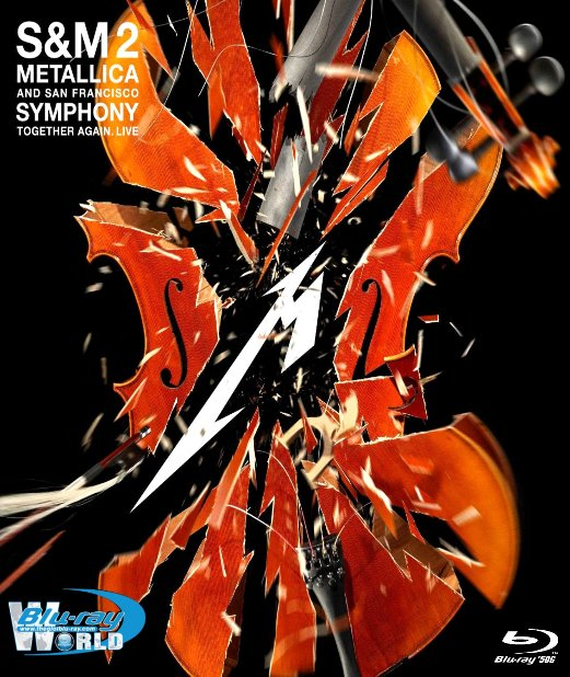 M1998. Metallica And San Francisco Symphony SM2 2019  (50G)