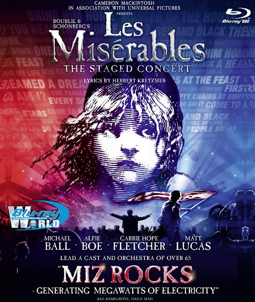 M2001. Les Miserables The Stage Concert 2019 (50G)