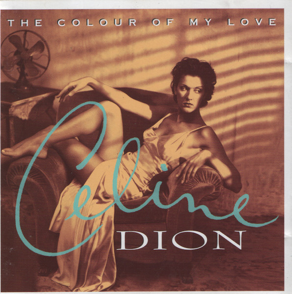 CD Celine Dion* ‎– The Colour Of My Love
