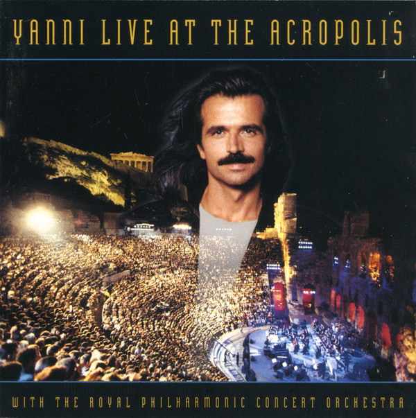 CD Yanni - With The Royal Philharmonic Concert Orchestra ‎– Live At The Acropolis
