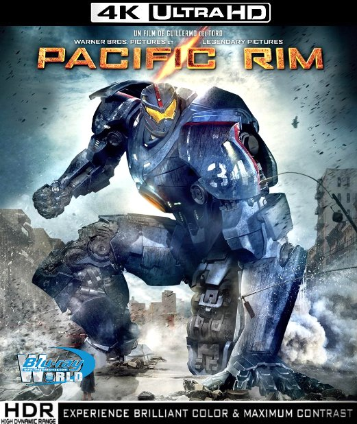 UHD101.Pacific Rim 2013 UltraHD 2160 DTS-HD MA 7.1 (60G)