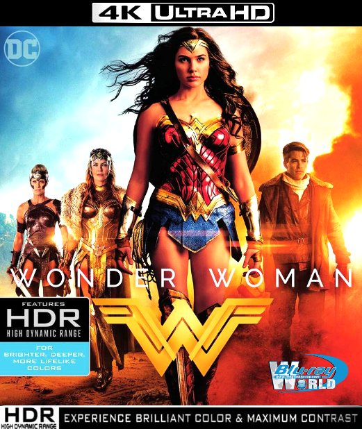 UHD123. WONDER WOMAN 2017 UHD 4K (40G)