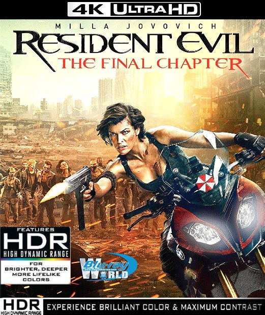 UHD125.Resident Evil FINAL CHAPTER 2017 2160p 4K UltraHD (55G)