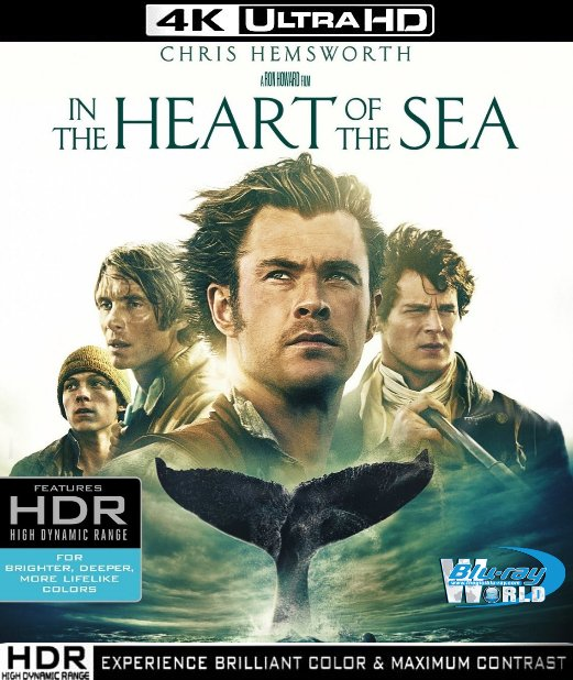 UHD127. In the Heart of the Sea 2016 UHD 4K (60G)