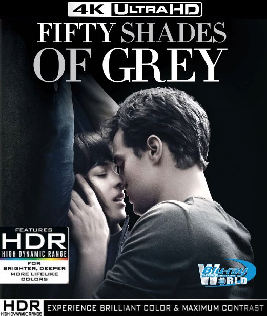 UHD130. Fifty Shades of Grey UHD 4K (60G)