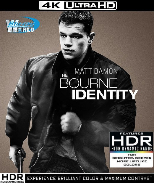 UHD138.The Bourne Identity 2002 4K UHD (50G)