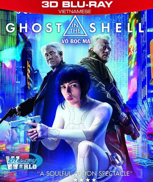 Z233.Ghost in the Shell 2017  - Vỏ Bọc Ma 3D50G (TRUE - HD 7.1 DOLBY ATMOS)