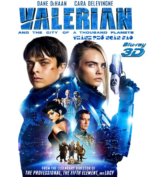 Z242.Valerian and the City of a Thousand Planets 2017 3D50G (TRUE - HD 7.1 DOLBY ATMOS)