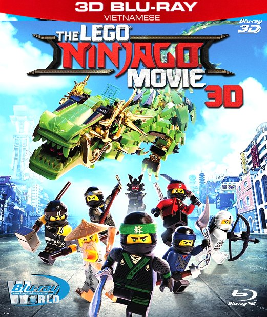 Z249.The LEGO Ninjago Movie 2017 - Câu Chuyện Lego: Ninja 3D50G (DTS-HD MA 5.1)