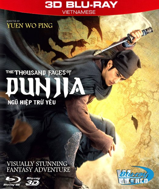 Z261.The Thousand Faces of Dunjia 2018 - NGŨ HIỆP TRỪ YÊU 3D50G (DTS-HD MA 7.1)